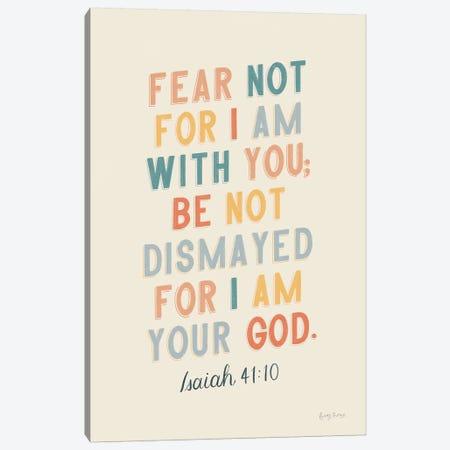 Bible Saying I Canvas Print #BCK38} by Becky Thorns Art Print