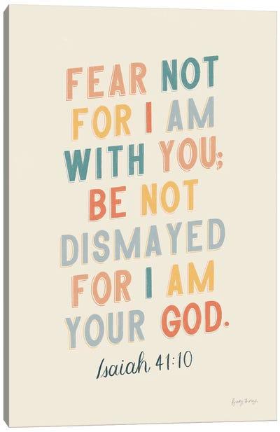 Bible Saying I Canvas Art Print