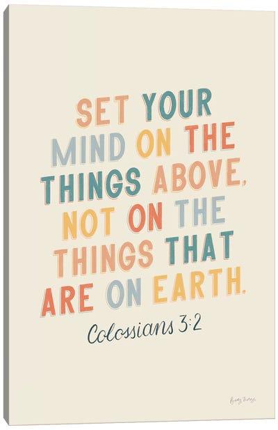 Bible Saying II Canvas Art Print