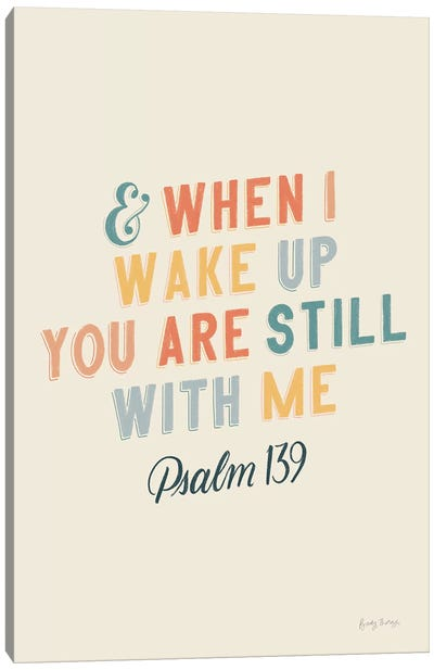 Bible Saying IV Canvas Art Print