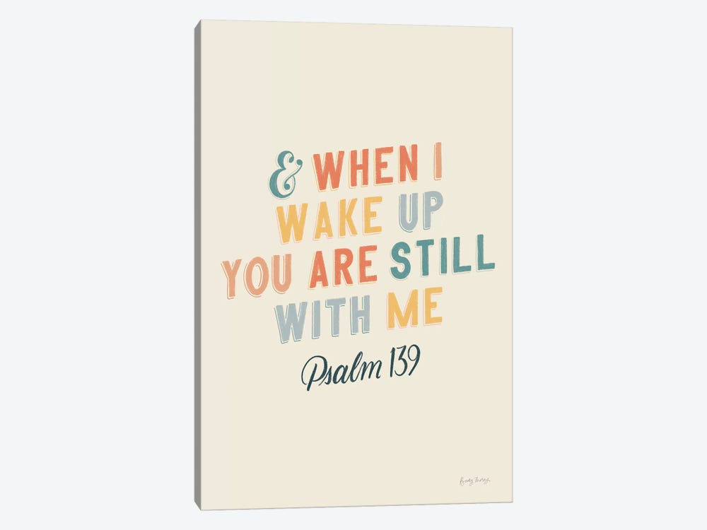 Bible Saying IV by Becky Thorns 1-piece Canvas Artwork