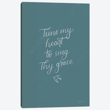 Sunday Hymn II Canvas Print #BCK46} by Becky Thorns Art Print