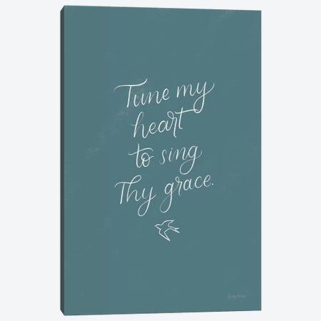 Sunday Hymn II Canvas Print #BCK46} by Becky Thorns Art Print