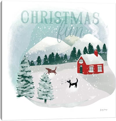 Winter Wonderland III Canvas Art Print