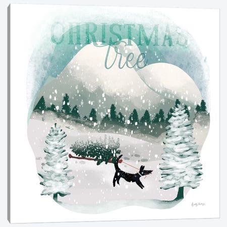 Winter Wonderland V Canvas Print #BCK54} by Becky Thorns Canvas Artwork