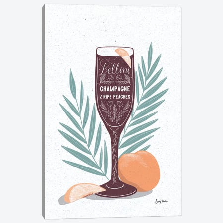 Fruity Cocktails I Canvas Print #BCK58} by Becky Thorns Canvas Art Print