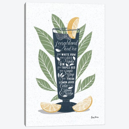 Fruity Cocktails II Canvas Print #BCK59} by Becky Thorns Art Print