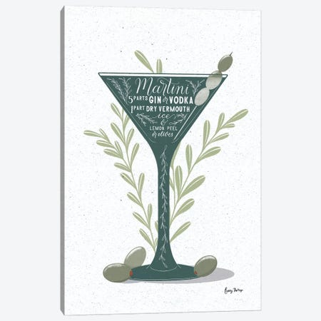 Fruity Cocktails III Canvas Print #BCK60} by Becky Thorns Canvas Artwork
