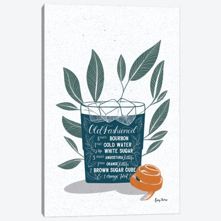 Fruity Cocktails IV Canvas Print #BCK61} by Becky Thorns Canvas Artwork