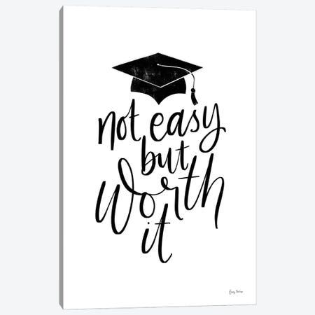 Graduation I Canvas Print #BCK67} by Becky Thorns Art Print