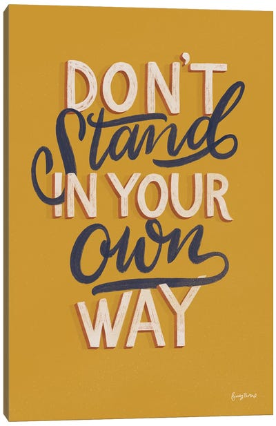 Encouraging Words - Stand Canvas Art Print