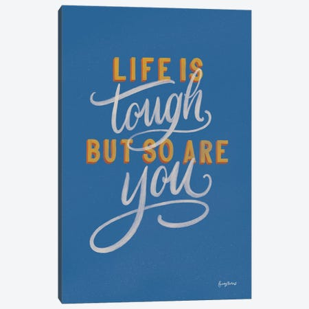Encouraging Words - Tough Canvas Print #BCK88} by Becky Thorns Canvas Artwork