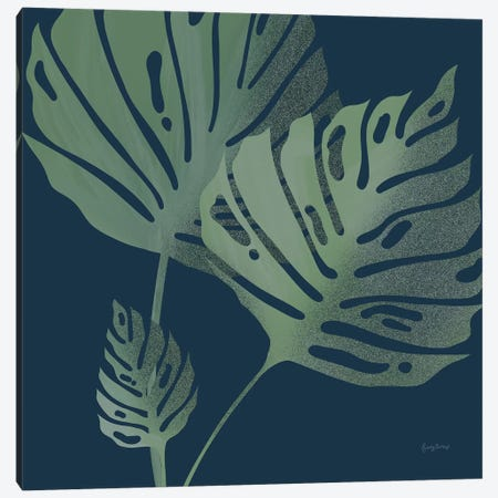Monstera III Canvas Print #BCK9} by Becky Thorns Canvas Wall Art