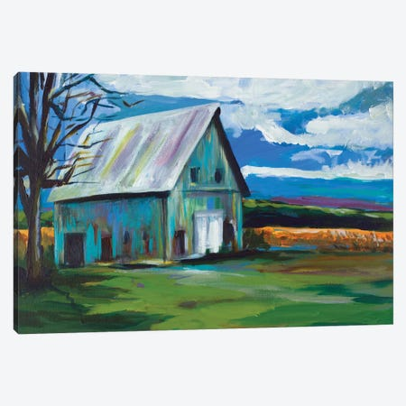 Old Barn Canvas Print #BCM14} by Andy Beauchamp Canvas Art
