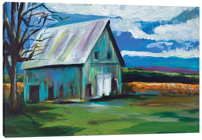 Old Barn Canvas Art Print