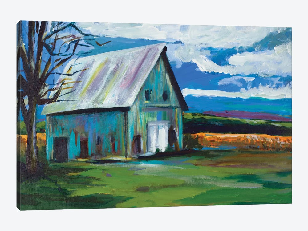 Old Barn by Andy Beauchamp 1-piece Canvas Artwork