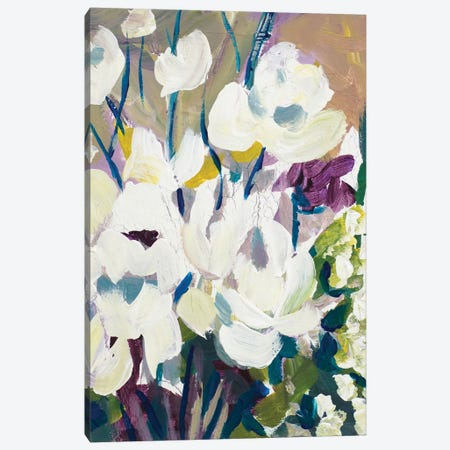 Painting Of Orchids Canvas Print #BCM16} by Andy Beauchamp Canvas Wall Art