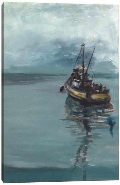 The Fisherman's Tale Canvas Art Print