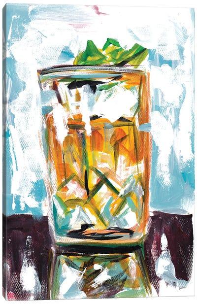 Drink on the Rocks Canvas Art Print