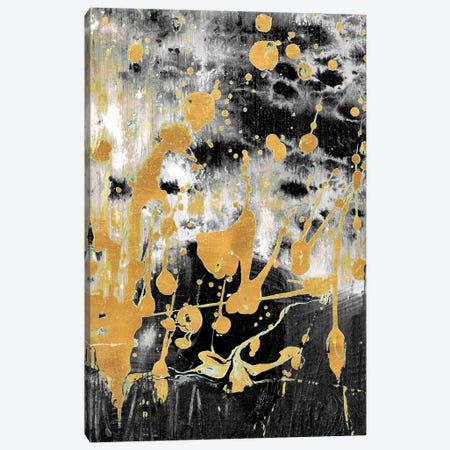 Gold Reflections Abstract Canvas Print #BCM26} by Andy Beauchamp Canvas Art Print