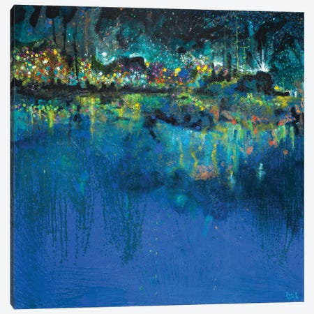 Lake Butler Abstract Canvas Print #BCM28} by Andy Beauchamp Canvas Art