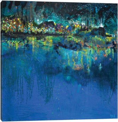 Lake Butler Abstract Canvas Art Print