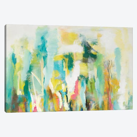 Mist of the Crowd Abstract Canvas Print #BCM29} by Andy Beauchamp Canvas Wall Art