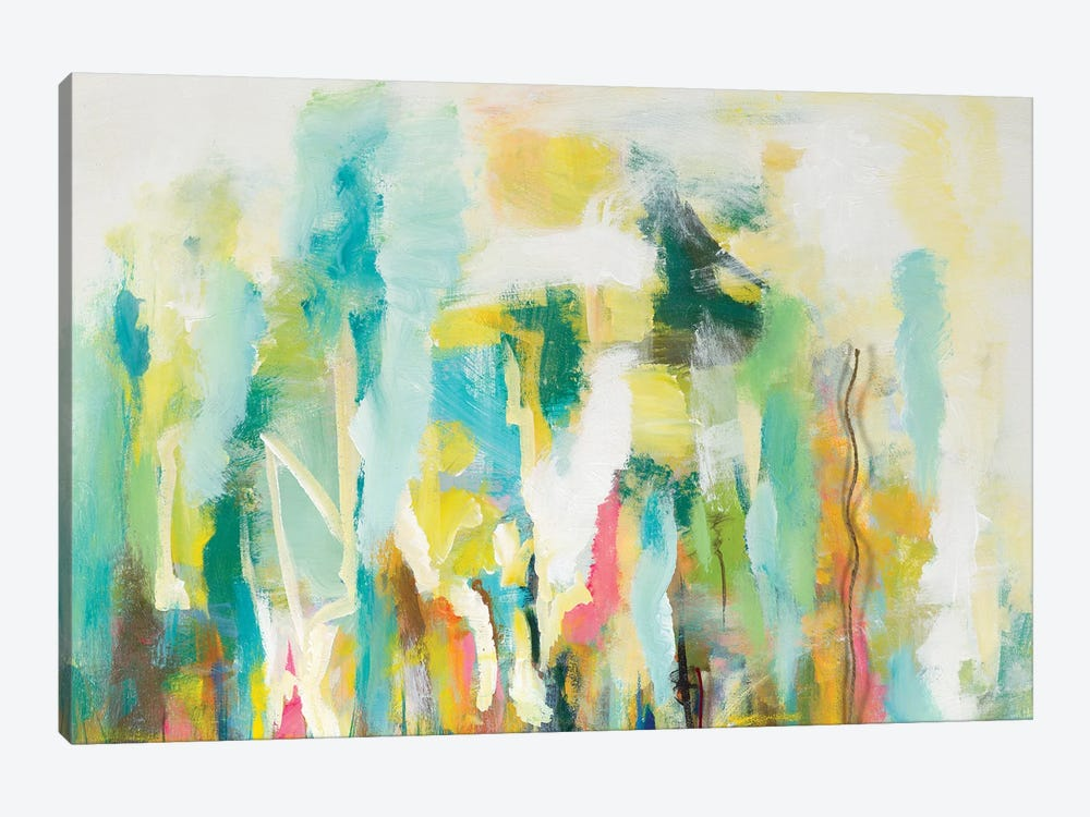 Mist of the Crowd Abstract by Andy Beauchamp 1-piece Canvas Artwork
