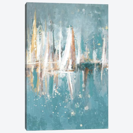 Boats Slowly Fading Canvas Print #BCM2} by Andy Beauchamp Canvas Wall Art