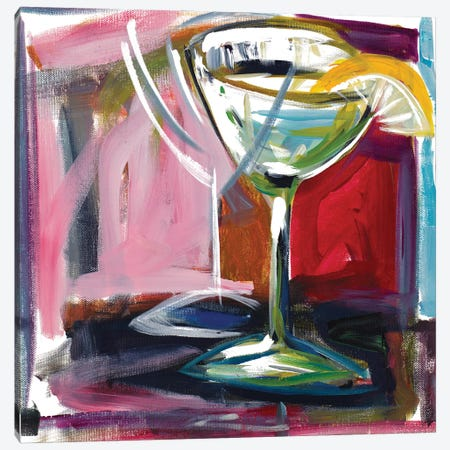 Party Drink Canvas Print #BCM30} by Andy Beauchamp Art Print