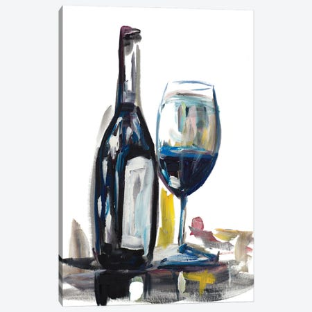 Time for Wine I Canvas Print #BCM31} by Andy Beauchamp Canvas Art Print