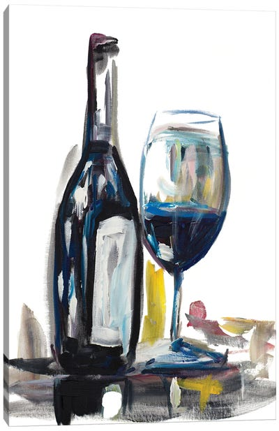 Time for Wine I Canvas Art Print