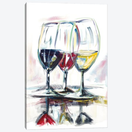 Time for Wine II Canvas Print #BCM32} by Andy Beauchamp Canvas Print