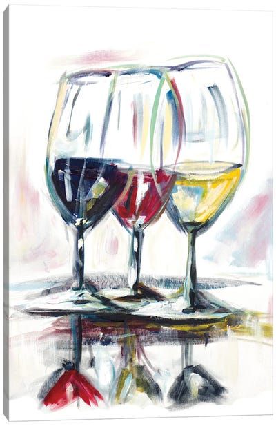 Time for Wine II Canvas Art Print