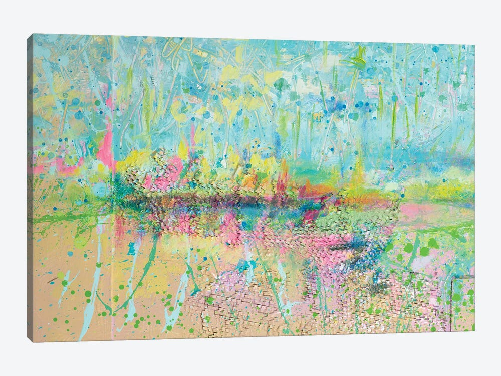 Colorful Distant Skies by Andy Beauchamp 1-piece Canvas Artwork