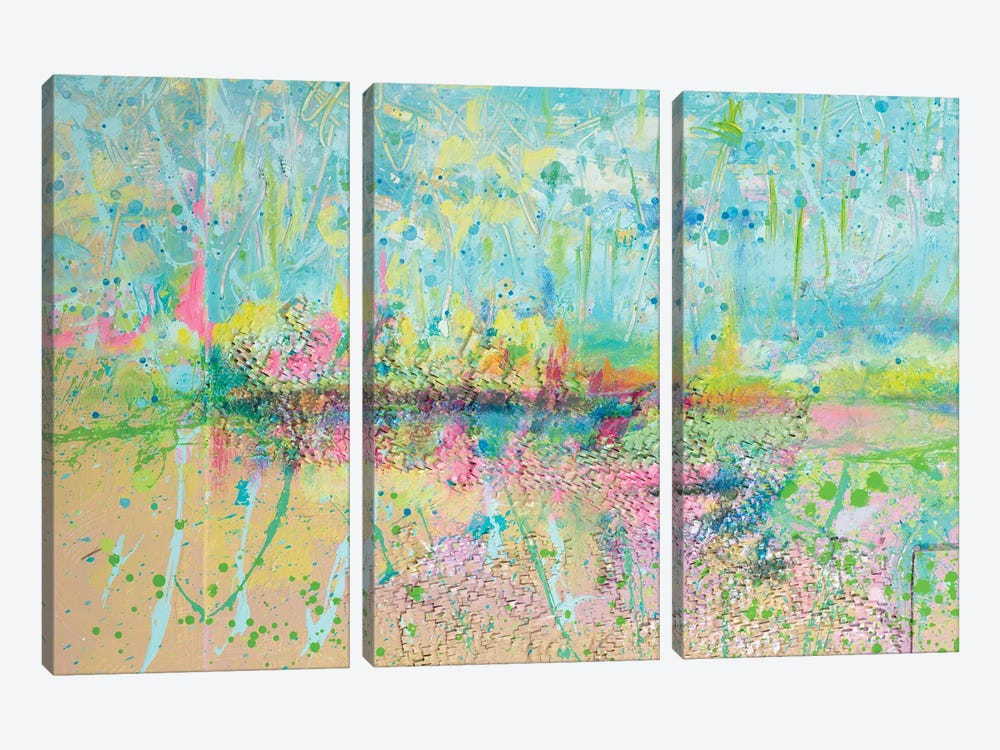 Colorful Distant Skies by Andy Beauchamp 3-piece Canvas Art