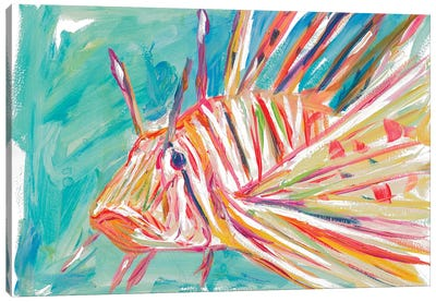Colorful Fish Canvas Art Print