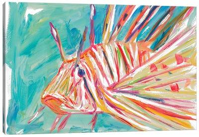 Colorful Fish Canvas Art Print