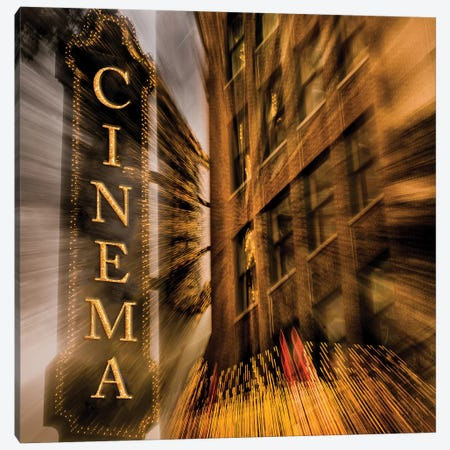 Cinema Canvas Print #BCP15} by Bill Carson Photography Art Print