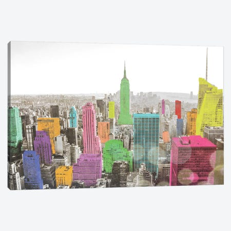 Color In The Cities Canvas Print #BCP17} by Bill Carson Photography Canvas Print