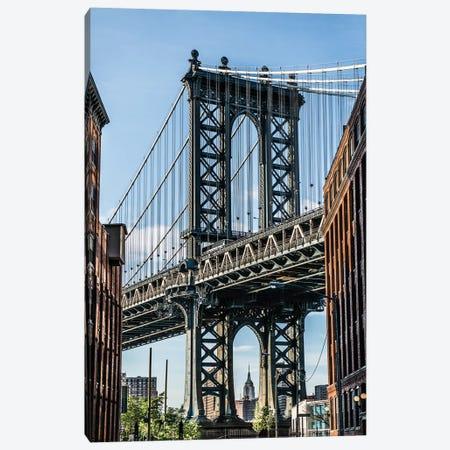 Manhattan Bridge Canvas Print #BCP22} by Bill Carson Photography Canvas Print