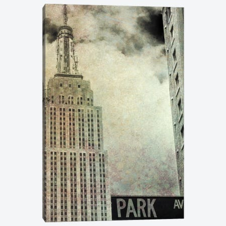 Park Ave View Sepia Canvas Print #BCP24} by Bill Carson Photography Canvas Artwork