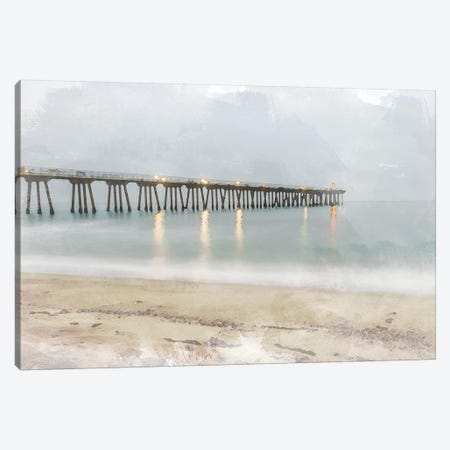Pier of Memory Canvas Print #BCP26} by Bill Carson Photography Canvas Artwork