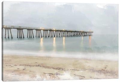 Pier of Memory Canvas Art Print