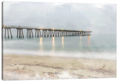 Pier of Memory Canvas Art Print