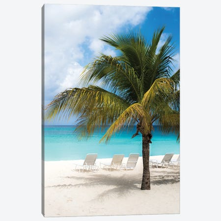 Relaxing Beach Canvas Print #BCP29} by Bill Carson Photography Art Print