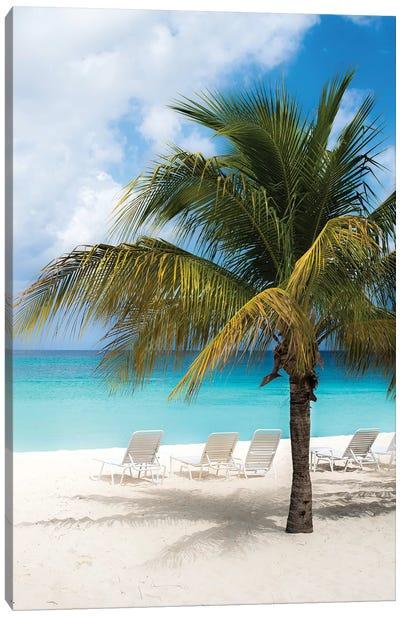Relaxing Beach Canvas Art Print