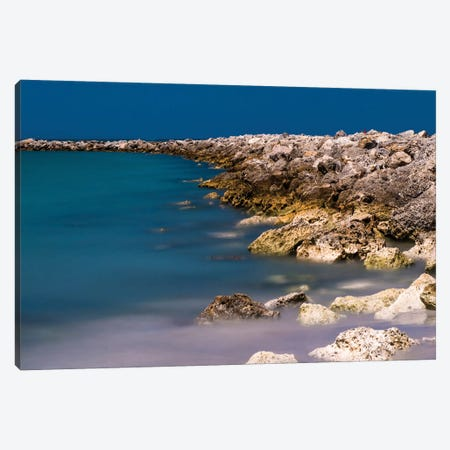 Rocky Shores Canvas Print #BCP33} by Bill Carson Photography Canvas Artwork