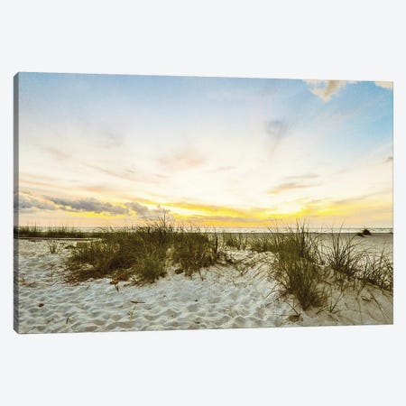 Sunset Beach Canvas Print #BCP38} by Bill Carson Photography Canvas Wall Art