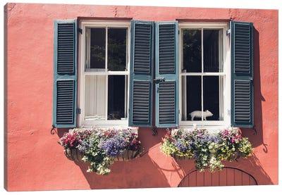 Window Charm Canvas Art Print